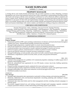 Resume for Procurement Manager