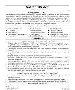 Looking into the guideline of the resume we offer